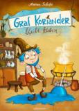 Graf Koriander bleibt kleben