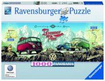 Ravensburger Puzzle 1000 – VW Bulli über den Brenner