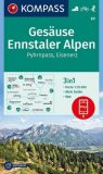 Gesäuse, Ennstaler Alpen – Wanderkarte
