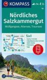 Nördliches Salzkammergut – Wanderkarte