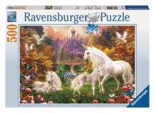 Ravensburger Puzzle 500 – Zauberhafte Einhörner