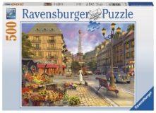 Ravensburger Puzzle 500 – Spaziergang durch Paris