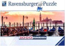 Ravensburger Puzzle 1000 – Gondeln in Venedig
