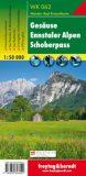 Gesäuse, Ennstaler Alpen, Schoberpass – Wanderkarte