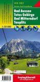 Bad Aussee, Totes Gebirge, Bad Mitterndorf, Tauplitz – Wanderkarte