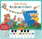 Mein buntes Keyboard-Buch, m. Klaviertastatur