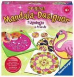 Mandala-Designer Flamingo & Friends